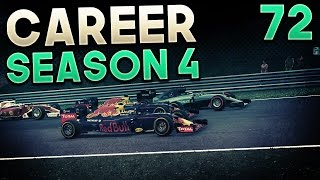 F1 2016 Career Mode Part 72: High Stakes Battling!