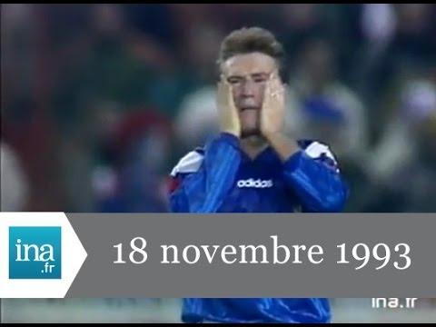 JT France 2 20H du 18 novembre 1993 - Archive INA