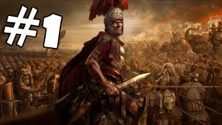 Total War Rome 2 Walkthrough Part 1 Gameplay Review Lets Play Playthrough Prologue Siege of Capua II
