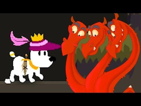 Принцесса РАПУНЦЕЛЬ И ПЕСИК МИМПИ #8 Змей горыныч с избушкой. Сказочный сон собачки Mimpi с Кидом