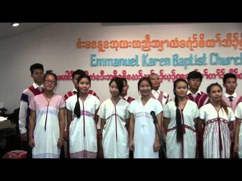 Karen God song by EKBC Youth Saw Shadrach Group