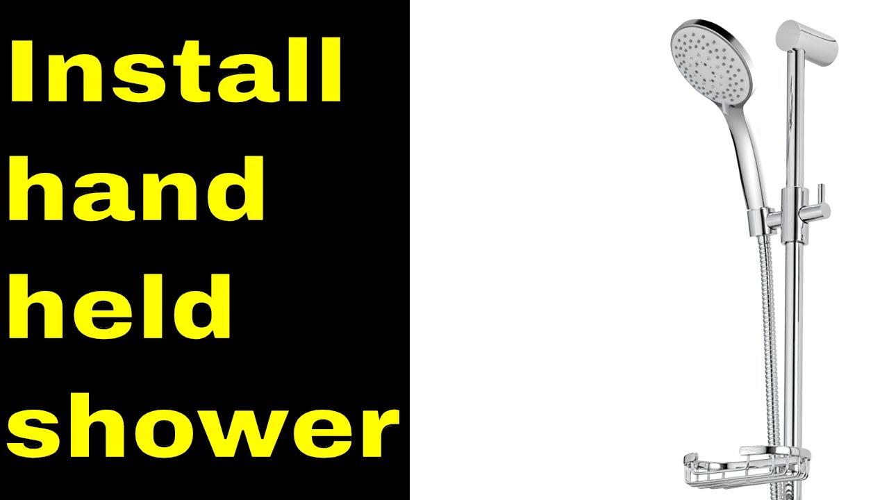 how to install hand held shower head Bunnings warehouse