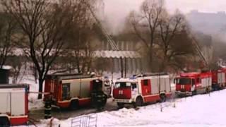 Пожар на профсоюзной в библиотеке ИНИОН РАН