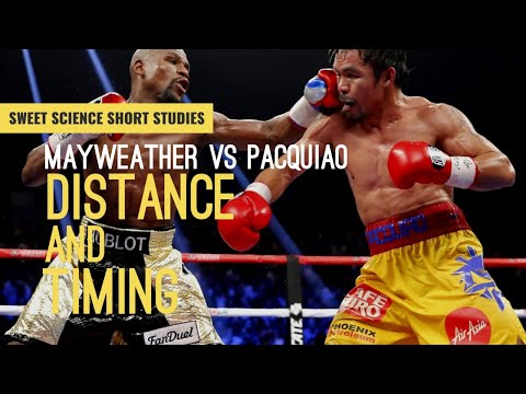 Mayweather vs Pacquiao: Distance and Timing | Sweet Science Short Studies | Boxing Breakdown