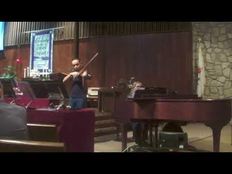 "Jesse Thompson, Violin ""Caprice Basque"" by Pablo de Sarasate"