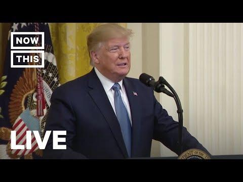 Trump Gives Speech on 'America's Environmental Leadership' | NowThis