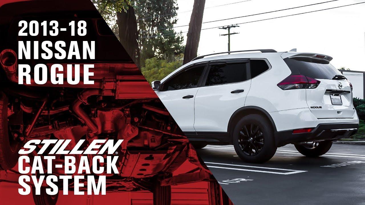 2018 Nissan Rogue Sport >> 2013+ Nissan Rogue | STILLEN Cat-Back Exhaust System | Sound Clips - YouTube