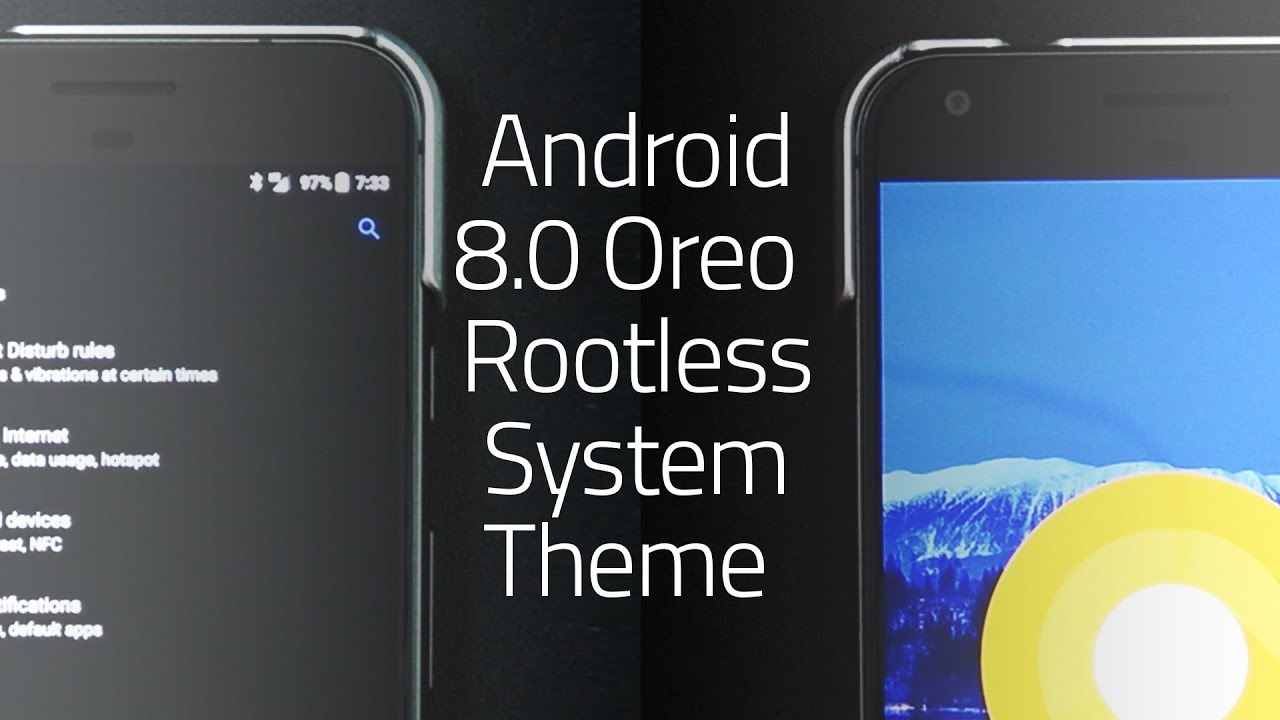 Android 8 0 Oreo Rootless System Theme