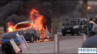 [Gilets jaunes ACTE 13] Mad Max dans Paris, casseurs, violences, voiture Vigipirate brulée...
