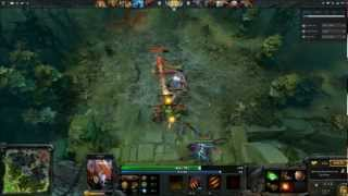 Dota 2 Rampage in 4 Minutes
