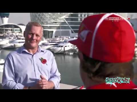 SKY F1 2013 Fernando Alonso interview about Ferrari 2013, Kimi Raikkonen and his Career