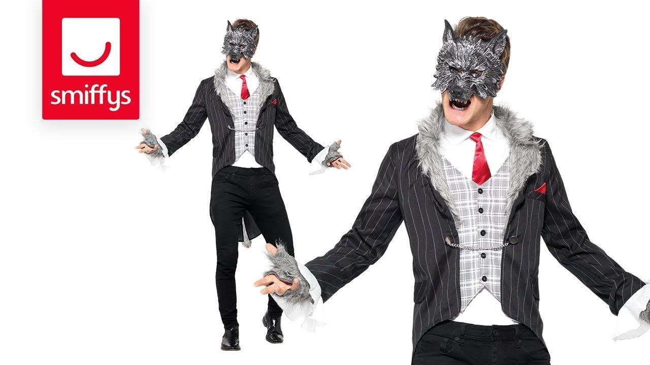 Big bad wolf costume deluxe smiffys fancy dress costume