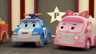 Робокар Поли - Правила дорожного движения - Что нужно знать о стройплощадках (мультфильм 23)