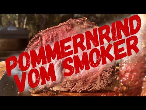 2,5 Kg ENTRECOTE vom SMOKER --- Klaus grillt