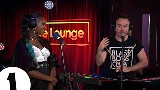 Duke Dumont covers 10 Walls Walking With Elephants with Moko in the Live Lounge