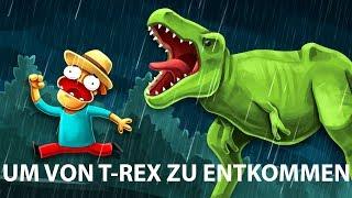 Ist es möglich, einem Dinosaurier zu entkommen?