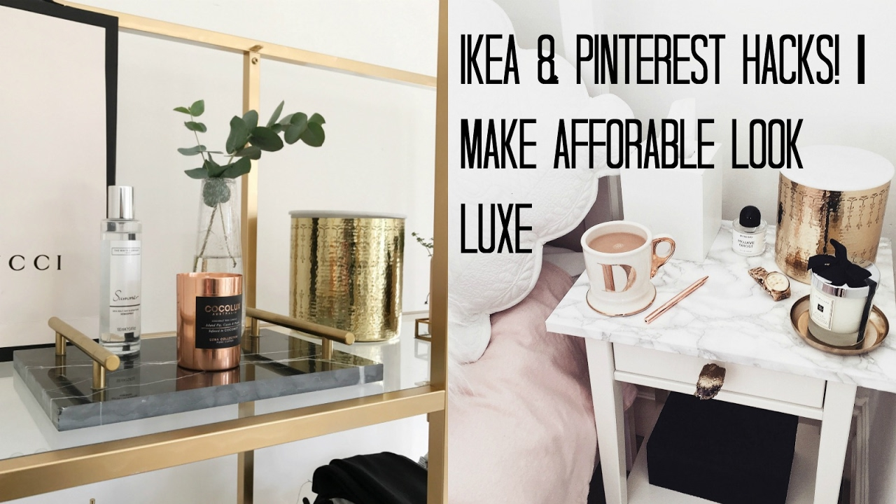 Ikea Hacks Ikea Hacks Pinterest Diy S Make Affordable Look Luxe