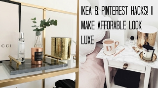 Ikea Hacks & Pinterest Diy's | Make Affordable Look Luxe