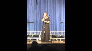 Schurr High School Choir Winter Concert Jennifer Sky Lopez Singing Santa Clause Is Coming To Town