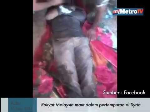 Rakyat Malaysia maut dalam pertempuran di Syria
