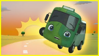 Zombie Buster At The Carwash   Go Buster   Baby Cartoons   Kids Videos   ABCs and 123s