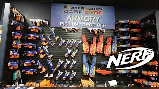 Ultimate 2018 NERF Arsenal Setup + Nerf Arena Tour