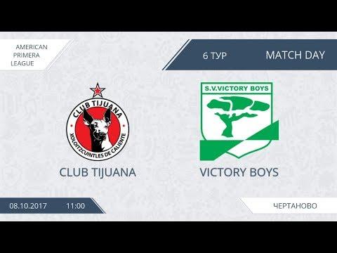 AFL17. America. Primera. Day 6. Club Tijuana - Victory Boys.