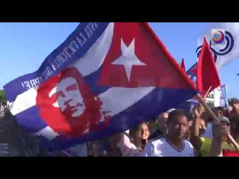 Celebra pueblo cubano Día Internacional de los Trabajadores