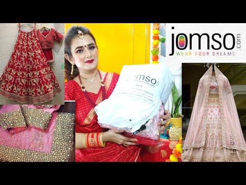 Designer Bridal Lehenga Choli \u0026 Saree / #Jomso / SWATI BHAMBRA