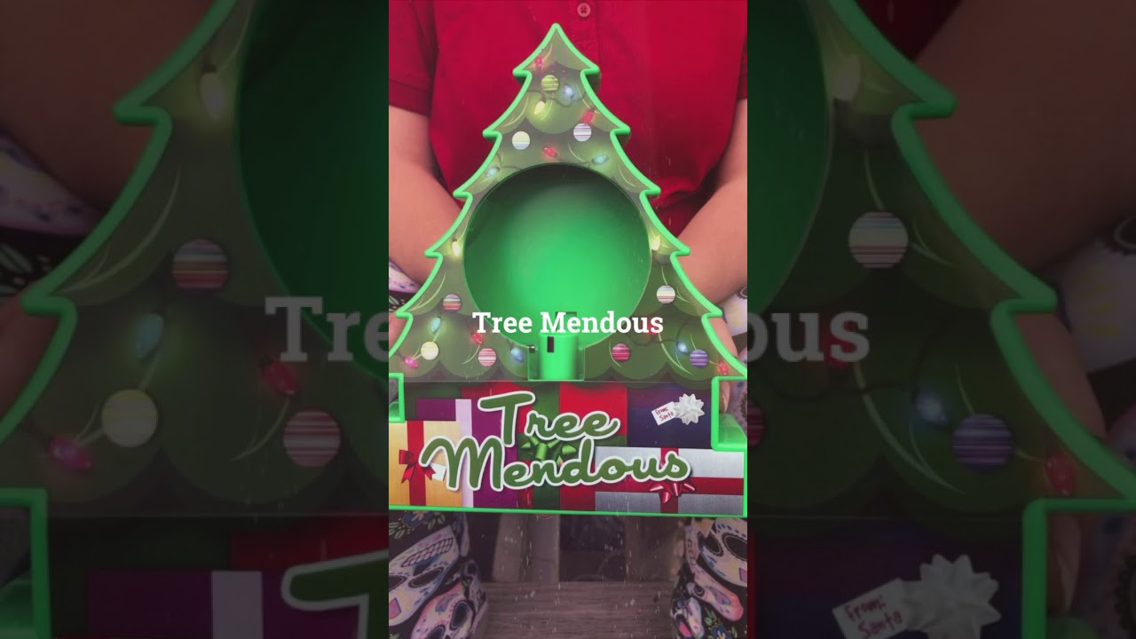 The TREE MENDOUS SPINNING Christmas ORNAMENT DECORATOR KIT SET