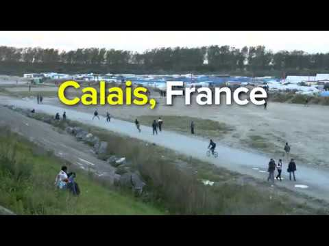 Calais, le jour des adieux
