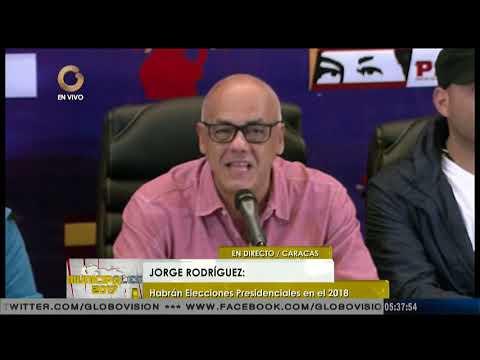 Rodríguez: A tempranas horas de la noche el CNE habrá totalizado casi el 100% de las actas