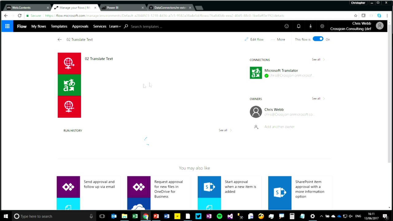 Working with web services in Power Query/Excel and Power BI