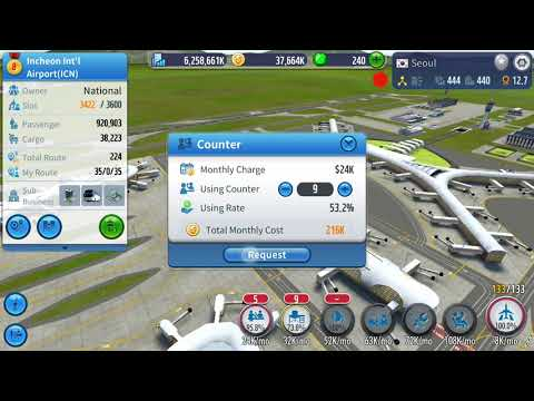 Air Tycoon Online 2 Episode 8 Advertising Investment and Cargo