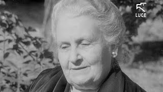 Maria Montessori Interview