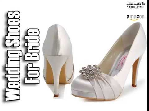 Wedding Shoes For Bride Comfortable Wedding Shoes YouTube