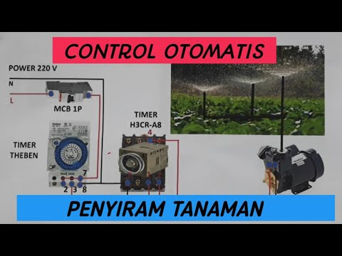 CARA BUAT CONTROL PENYIRAM TANAMAN OTOMATIS