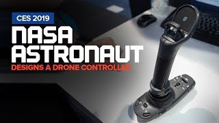 NASA Astronaut Designs a Drone Controller - FT Aviator by Fluidity - CES 2019