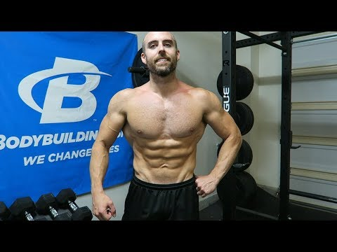 BajheeraIRL - July 2018 Physique Update #4 (188 lbs) - Natural Bodybuilding Vlog (5 Weeks Out )