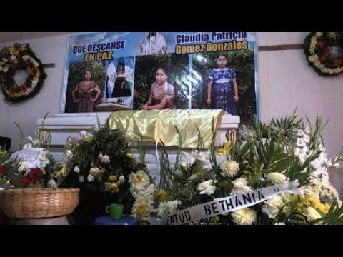 Reclaman justicia por guatemalteca abatida en frontera de EEUU