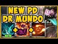 UHH RIOT?? NEW PHANTOM DANCER ON MUNDO MAKES HIM 100% UNKILLABLE! MUNDO SEASON 9! League of Legends