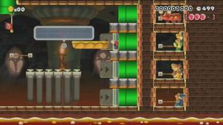 Kill a boss with WHAT?! by Impact! 一SUPER MARIO MAKER一 No Commentary
