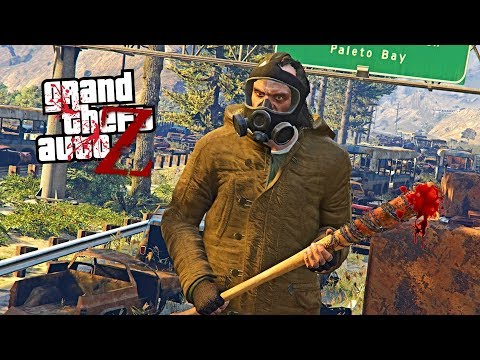 GTA V ZOMBIES - SENDO ATACADO POR UM HORDA DE ZUMBIES | EP#01 (GTA 5 Survival Zombie MOD)
