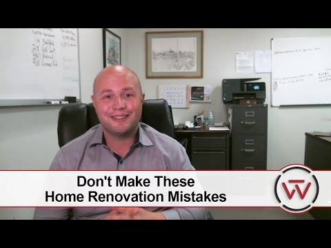 The Windsor Group: Don't Make These Home Renovation Mistakes
