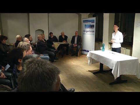 """Bürgerforum """"Blaue Wende"""" mit Frauke Petry in Zwickau"""