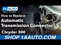 How to Replace Install Automatic Transmission Wire Harness Connector 2005-07 Chrysler 300