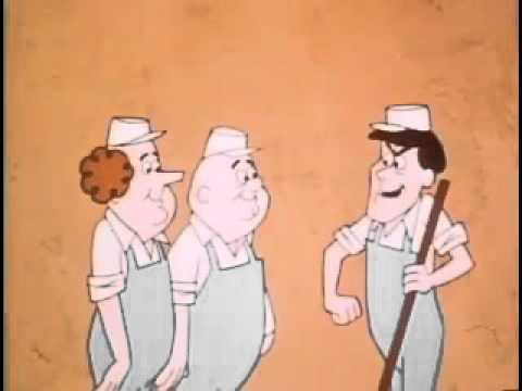 "The Three Stooges Cartoon ""Think OR Thwim"""