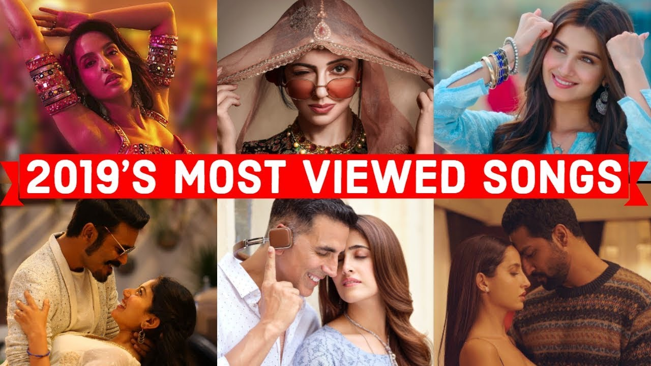 2019 S Top 50 Most Viewed Indian Bollywood Songs On Youtube Youtube