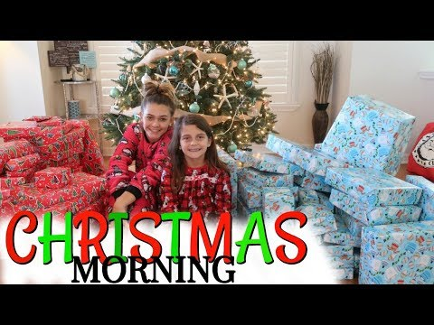 CHRISTMAS MORNING 2017! WHAT DID WE GET FOR CHRISTMAS?