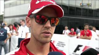 2015 Italy - F1 drivers react to idea of racing with closed cockpits
